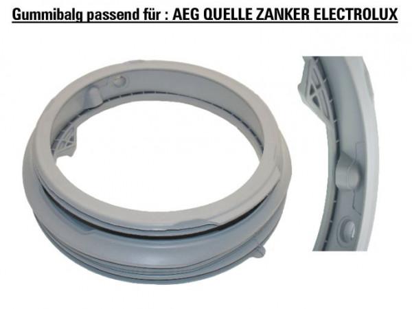 Türmanschette Waschmaschine für AEG Zanker 101.309 110859021